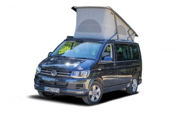 VW Campervan hire from Callvan Hire