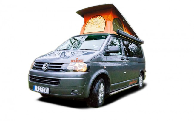VW Campervan hire from Callvan Hire