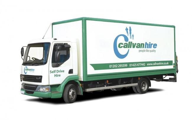 7.5 Tonne Lorry Hire
