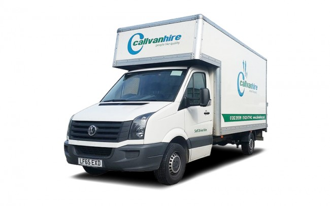 VW Crafter High Cube Van Hire