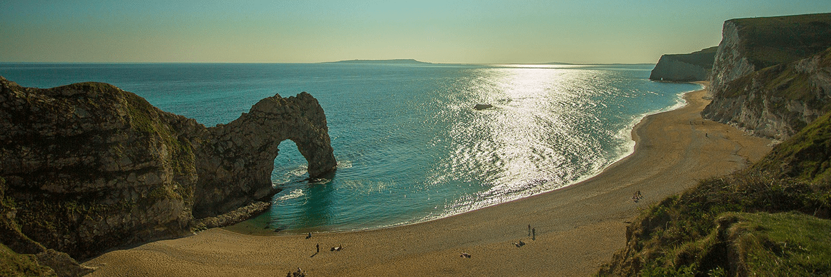 van hire Dorset - Durdle Door